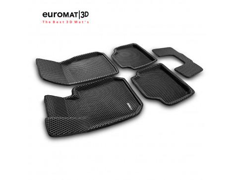 3D Коврики Euromat3D EVA В Салон Для BMW 3 (F30) (2010-) № EM3DEVA-001202