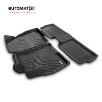 3D Коврики Euromat3D EVA В Салон Для CHERY Tiggo 7 PRO (2019-) № EM3DEVA-001421