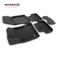 3D Коврики Euromat3D EVA В Салон Для Mercedes B-Class (W246) (2014-) № EM3DEVA-003516