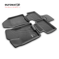 3D Коврики Euromat3D EVA В Салон Для LADA Vesta (2015-) № EM3DEVA-005308G Серые