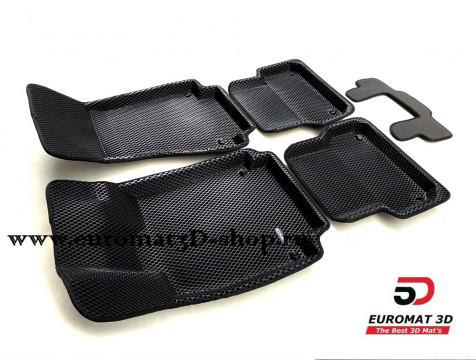 3D Коврики Euromat3D EVA В Салон Для AUDI A6 (2011-) № EM3DEVA-001107