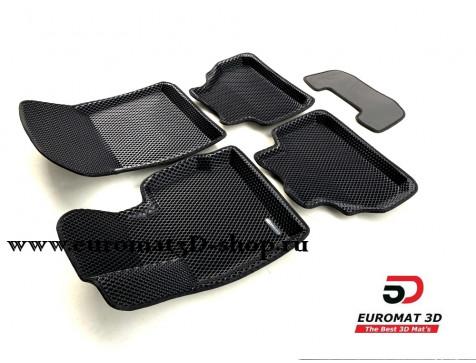 3D Коврики Euromat3D EVA В Салон Для BMW X3 (F25) (2010-) № EM3DEVA-001210
