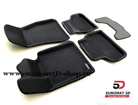 3D Коврики Euromat3D EVA В Салон Для BMW 5 G30 (2017-) № EM3DEVA-001219