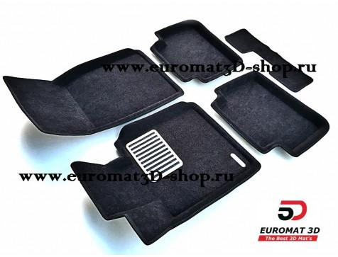 Текстильные 3D коврики Euromat в салон для BMW 1 (F20) (2011-) № EM3D-001213