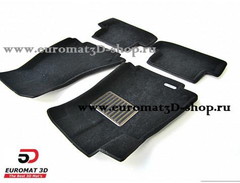 Текстильные 3D коврики Euromat в салон для AUDI A5 (2010-) Coupe № EM3D-001112